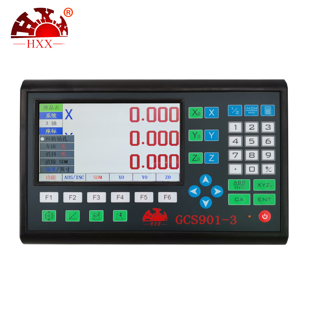 Precision instrument 3-axis Dro GCS901-3 lathe excellent quality assurance