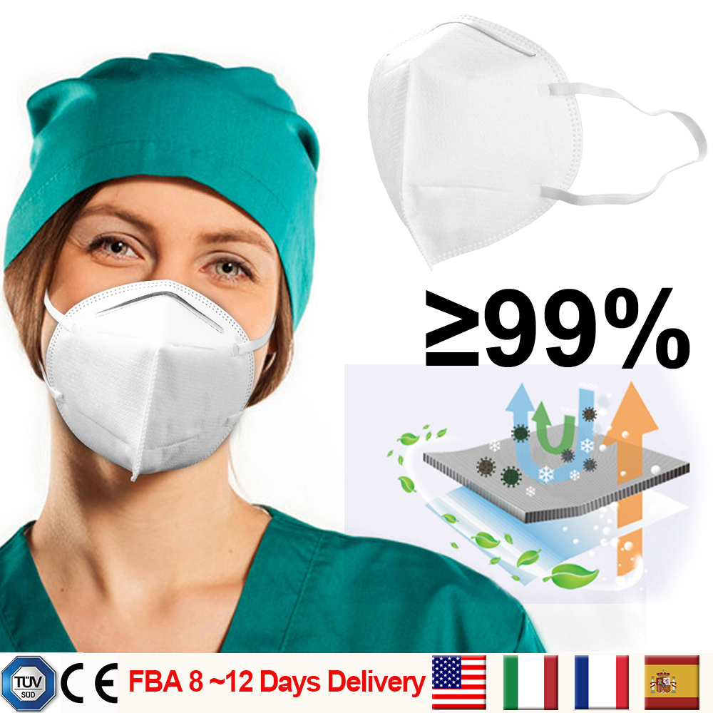 20Pcs Medical Protection KN95 Mask FFP3 Face Masks 99% Sanitary Safety Anti Pollution Better Than KF94 FFP2 CE TUV Certification