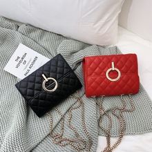 Womens Small Square Pu Leather Shoulder Bag 2019 Design Handbags Fashion Handbag Flip
