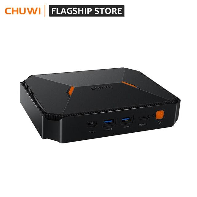 Mini PC  Windows 10 system Intel Gemini-Lake N4100 Quad Core LPDDR4 8GB RAM 256G SSD 1