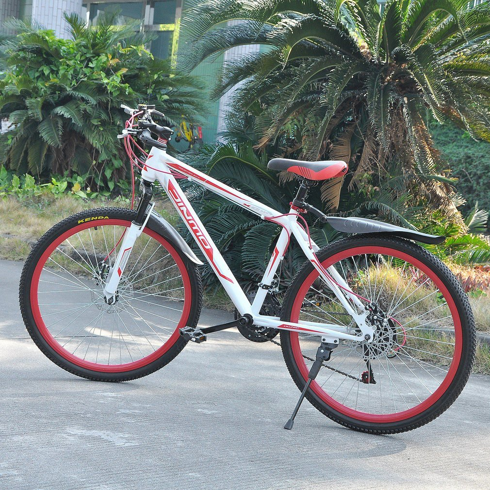 26 InchX17 Inch Disc 30 Circle Mountain <font><b>Bike</b></font> Variable Speed MTB Road Bicycle image