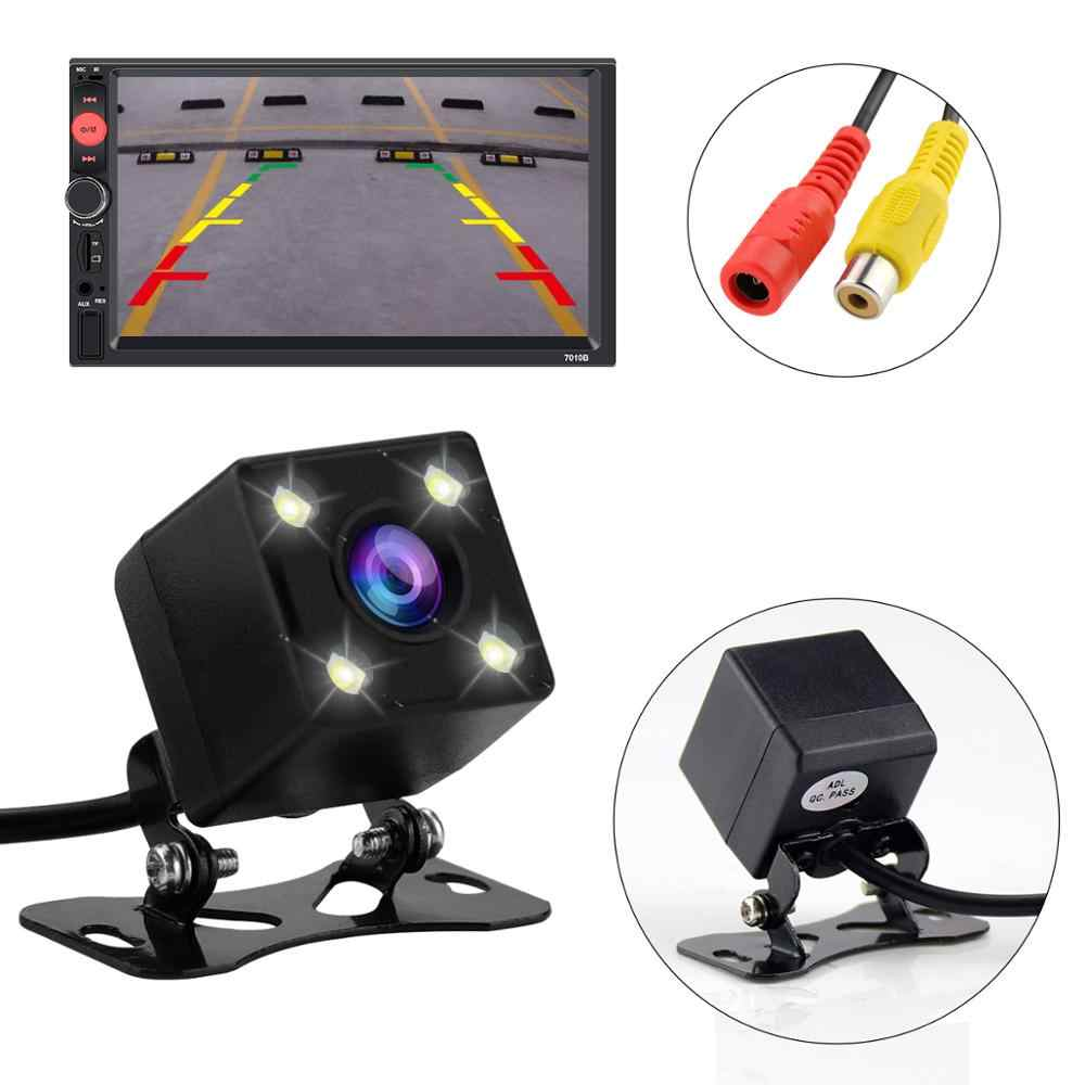 Car rear view camera Universal Waterproof backup camera HD IR 4/8 LED infrared night vision rearview parking for car radio auto