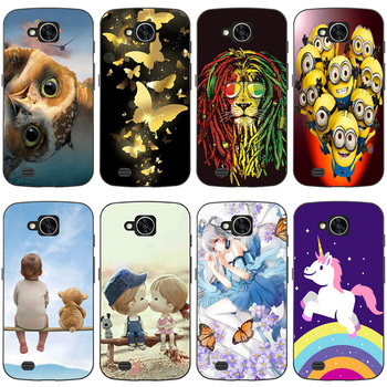 Luxury Silicone Phone Case For LG X Venture H700 X Calibur For LG V9 Case Soft TPU Back Cover For LG X Venture V9 dog Cat Case image
