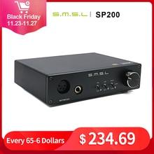 SMSL SP200 THX HP Amp XLR איזון אוזניות מגבר נמוך רעש קטן גודל THX AAA 888 טכנולוגיה מראש מגבר 2 (2.0)