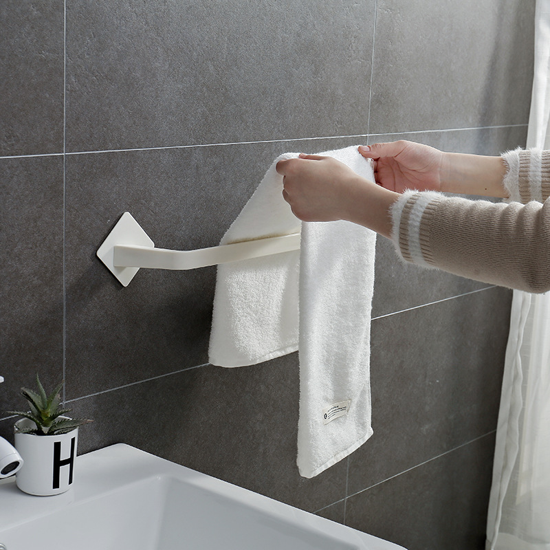 Дыропробивная вешалка для полотенец однополюсная полка для хранения настенная вешалка для ванной унитаза для ванной комнаты вешалка для
