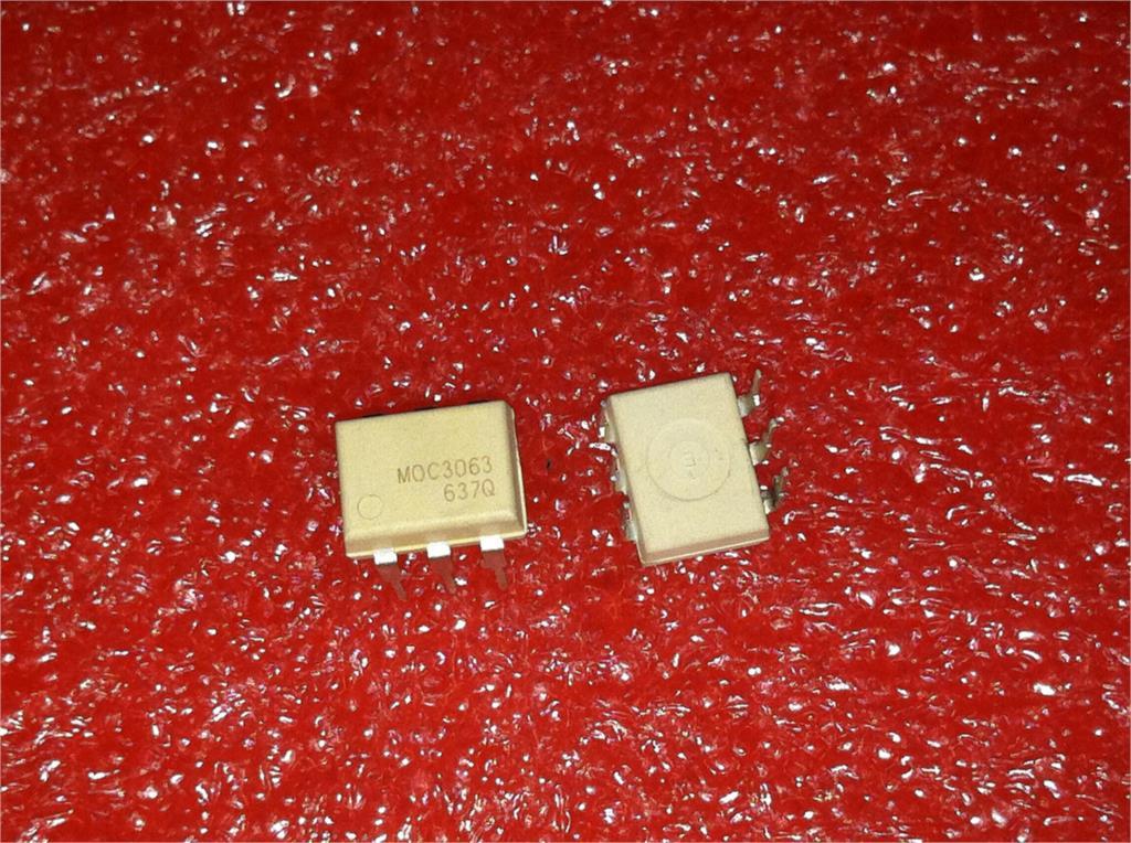 10pcs/lot MOC3051 MOC3052 MOC3061 MOC3062 MOC3063 MOC3081 MOC3082 MOC3083 MOC3033 MOC3031 DIP-6 New Original In Stock