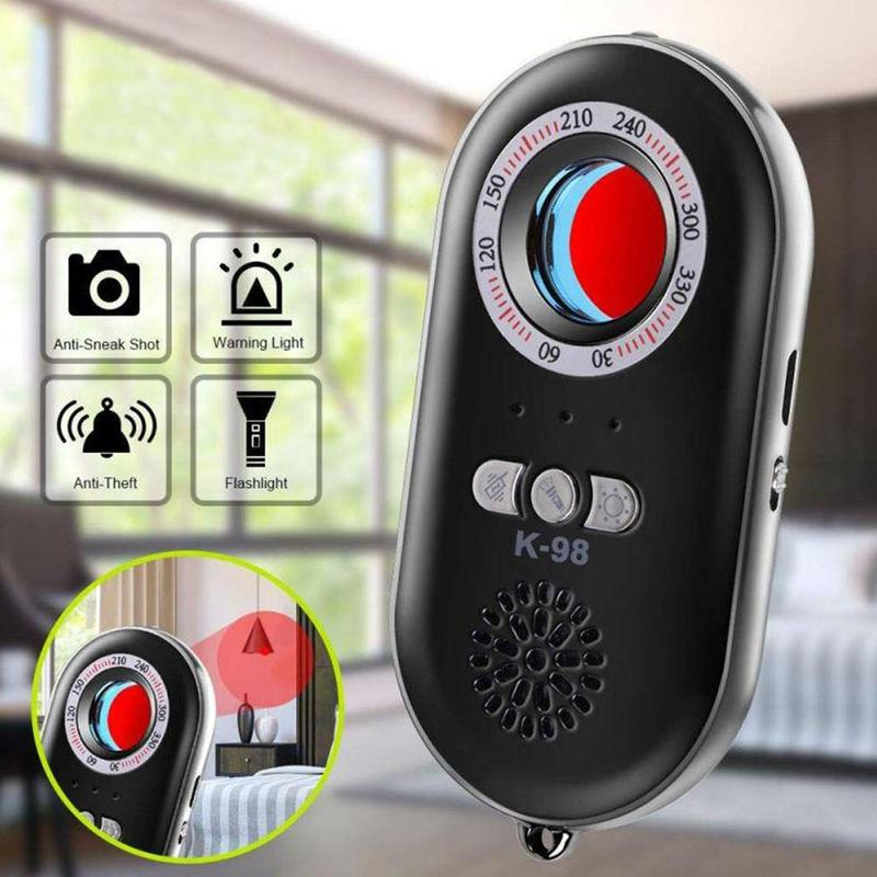 Multifunctional Infrared Detector - Anti Hidden Camera Detector Travel Infrared Security Alarm Machine Personal H2I3