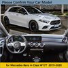 Dashboard Cover Protective Pad for Mercedes Benz A-Class W177 2019 2020 Car Accessories Carpet A-Klasse A160 A180 A200 A45 review
