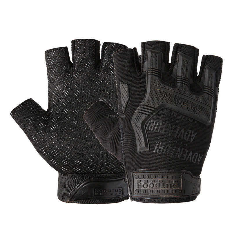 Tactical Glove Military Camping Airsoft Hunting Shooting Motorcycle Half Finger