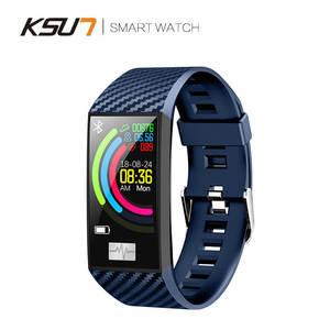 Image 2 - KSUN KSS701 스마트 시계 피트니스 팔찌 MiBand 밴드 3 빅 터치 스크린 OLED 메시지 심박수 시간 Smartband