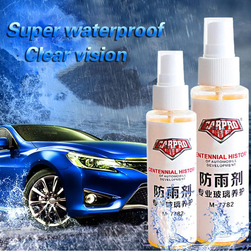 100ml Car Front Windshield Anti-Rain Agent Rear-View Mirror Coating Agent Mirror Window Glass Waterproof Rainproof Spray Car