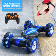 Stunt Twister Remote Control Car Toys 2.4GHz 4WD Twist- Desert Cars Gesture Control Remote Mountain Climbing Car Gift To Kids