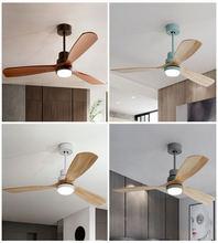 Чарли Чаплином для Деревянный потолочные вентиляторы с светильник