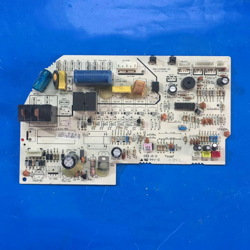 Original For Air Conditioning Computer Board GAL1104GK-01 GAL1104GK-01RJ-L0302 GAL1104GK-01R-L0407 Second-hand Circuit Board