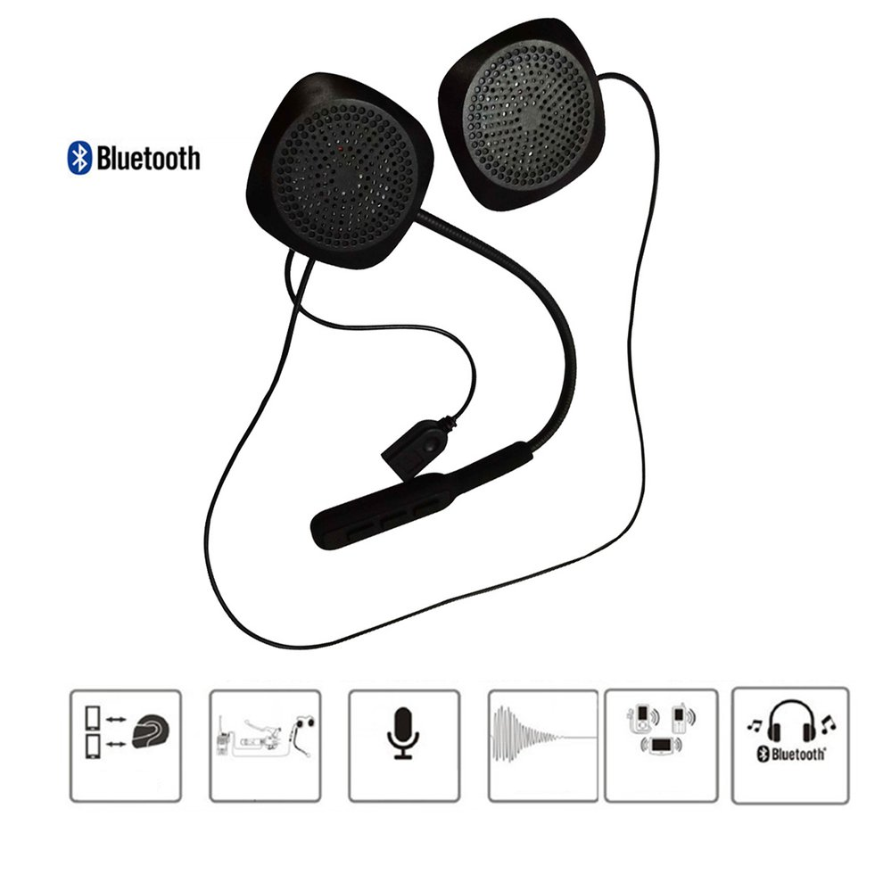 2nd Generation Motorcycle Helmet Headset Wireless Bluetooth Headphone Speaker Handsfree title=