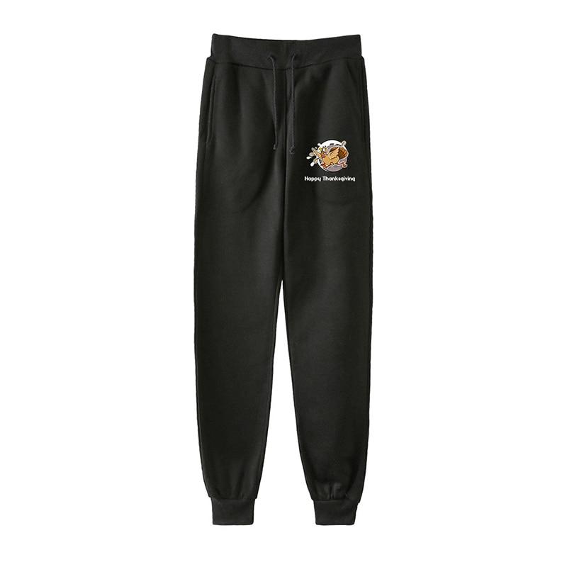 Latest Fashion Happy Thanksgiving Day Men Women Harem Pants Casual Male Female Long Loose Pant Trousers Sportswear Plus Size 4XL