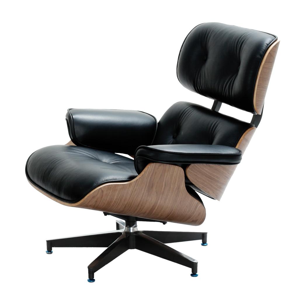 Eames Lounge Stoel.Furgle Modern Eames Lounge Chair Chaise Furniture Replica Lounge