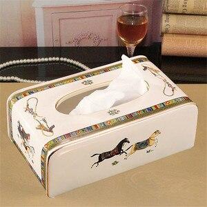 Tissue Box Ceramic European St