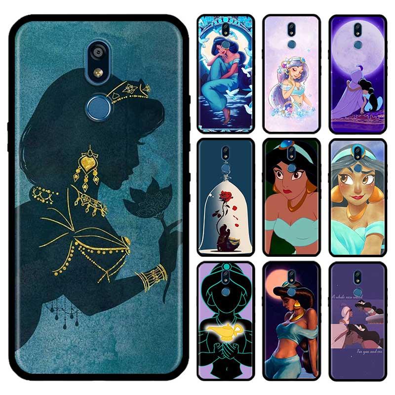 Aladdin Jasmine Princess Case For LG G6 G7 G8 Thinq K40 K40s Q51 Q60 Q61 Q70 K41s K50s K51s K61 Tpu Phone Carcasa Capas