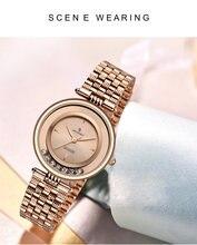 Часы женские из нержавеющей стали модные кварцевые роскошные