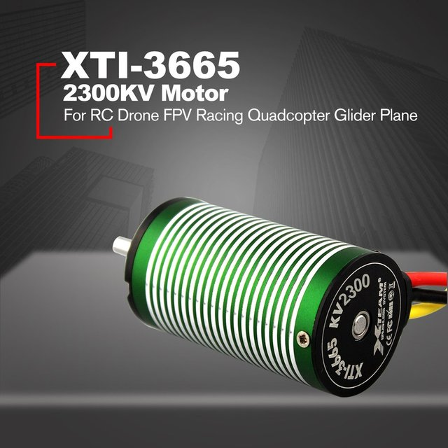 X-TEAM XTI-3665 High Performance 2300KV Brushless Motor for RC Drone FPV Racing Quadcopter Glider Plane Spare Parts