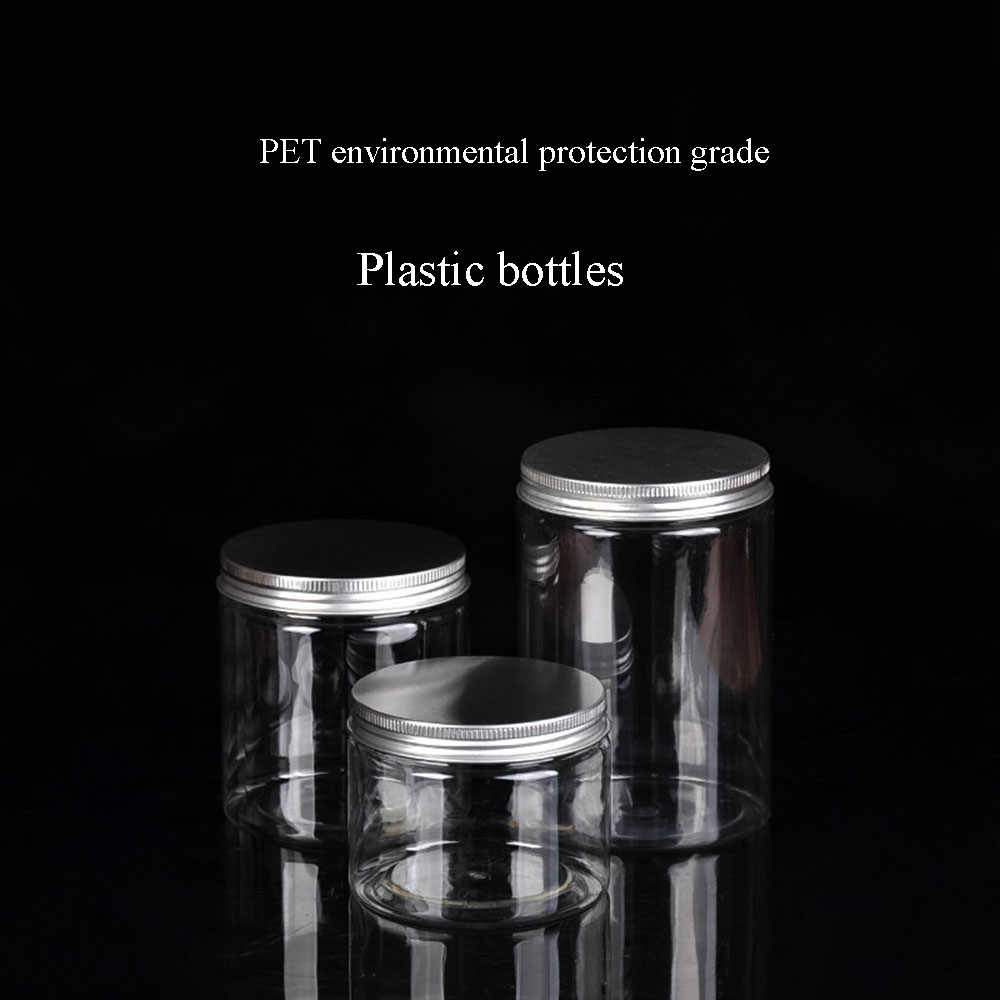 透明なプラスチック瓶と蓋空の化粧品容器化粧箱旅行ボトル 30 ミリリットル 50 ミリリットル 60 ミリリットル 80 ミリリットル 100 ミリリットル 120 ミリリットル 250 ミリリットル 500 ミリリットル