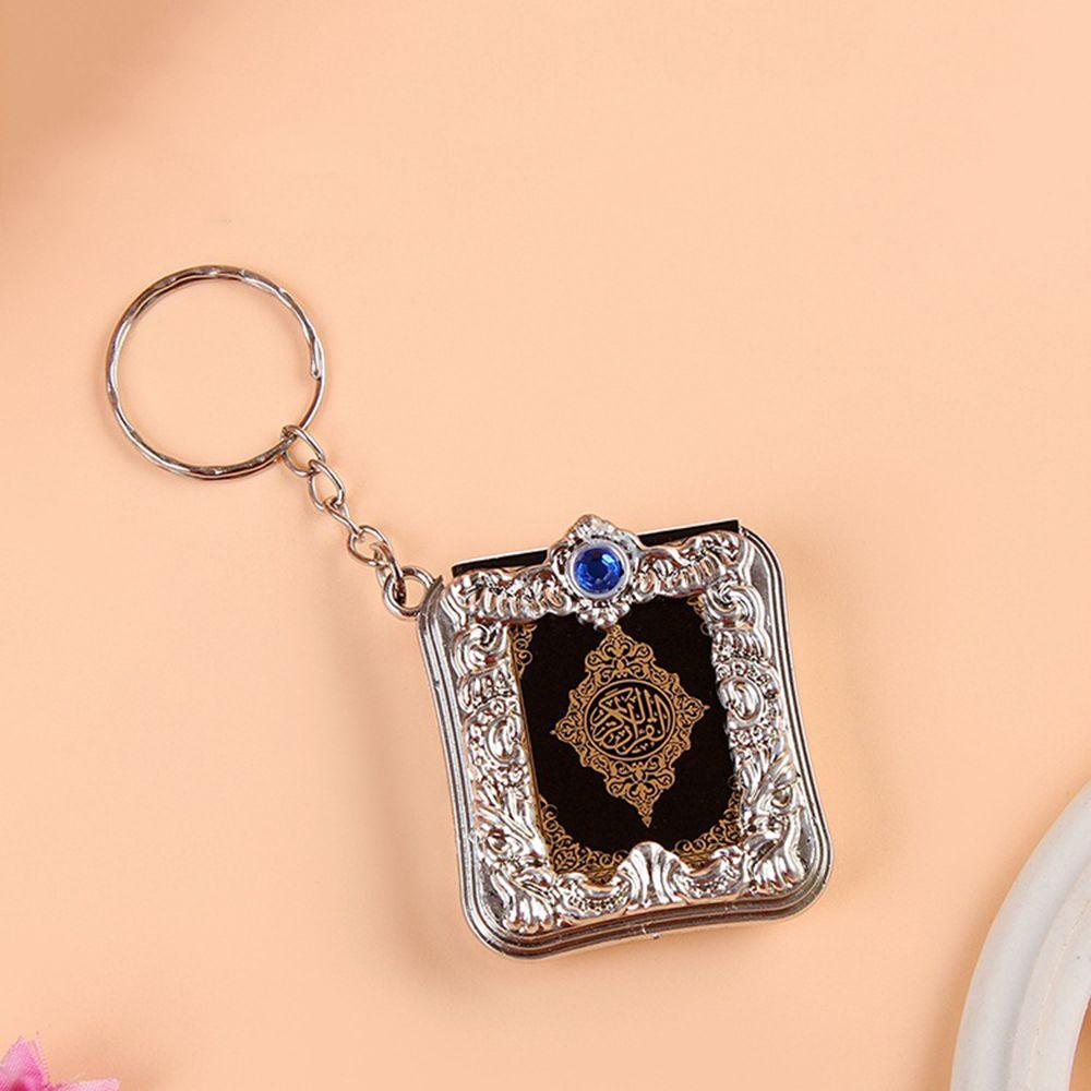Mini-Ark-Quran-Book-Koran-Pendant-Muslim-Keychain-Bag-Purse-Car-Decor-Newly (3)