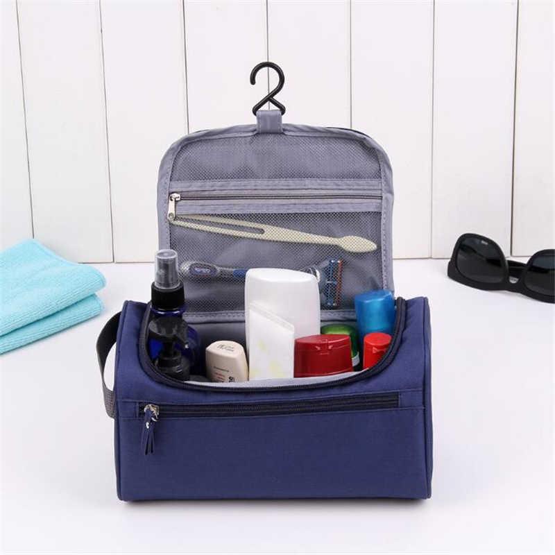 UOSC kosmetyczka kobiety torby mężczyźni duża wodoodporna kosmetyczka podróżna organizator do torby Case niezbędne do zmywania kosmetyczka tania torba