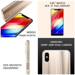 """Image 3 - Orijinal sürüm HOMTOM H10 5.85 """"Android 8.1MTK6750T Octa çekirdek Smartphone parmak izi kilidini 64GB 3500mAh 16MP 4G LTE cep telefonu"""