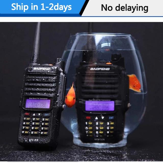 2020 Baofeng UV XR 10Watts Powerful IP67 10W Waterproof Walkie Talkie CB radio portable Handheld 10KM Long Range Two Way Radio