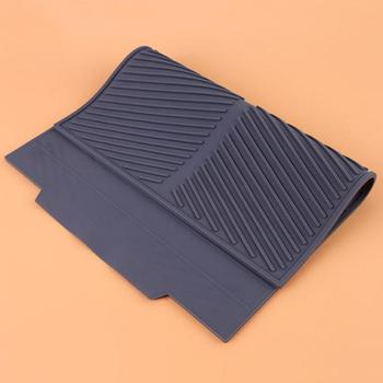Silicone Drying Mat Non-Slip Heat Resistant Table Dish Drainer Durable Table Tray Dish Drying Mat Kitchen Folding Dish Drain Mat silicone drain mat water coaster placemat table mat kitchen tool heat resistant non slip tray home kitchen dishwashing drain mat