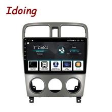 """Idoing 9 """"araba radyo GPS multimedya oynatıcı Android otomatik Subaru Forester 2004 2008 için 4G + 64G otomatik navigasyon başkanı ünitesi No 2 din"""