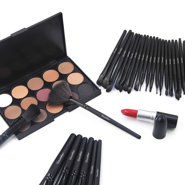 Vander Professional 32Pcs/Set Makeup Brush Foundation Eye Shadows Lipsticks Powder Make Up Brushes Tool Bag Pincel Maquiagem Kit 3