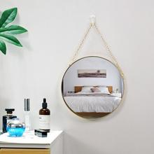8 Inch Nordic Sun Mirror Geometric Round Shaped Wall With Phnom Penh Salon Art Toilet Bathroom Decor