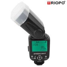 TRIOPO TR 950 מקצועי פלאש אור על מצלמה חיצוני Speedlite מבזק עבור Canon עבור ניקון פלאש מצלמה DSLR Speedlite