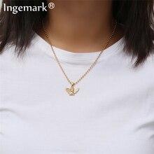Ingemark Новая мода Ангел кулон колье ожерелье экологически чистый материал сплав Бусы цепочка в богемном стиле ожерелье колье женские ювелирные изделия