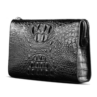 langhao male high quality goods male handbags business crocodile Men's bags Cross section square male clutch bag