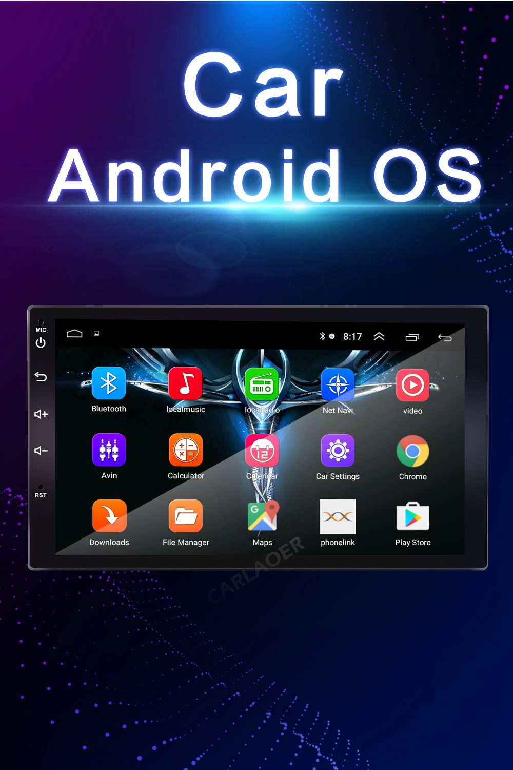 2din car android radio- (8)