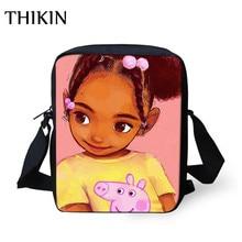 THIKIN Kawaii в африканском стиле с принтом для девочек на открытом воздухе, сумки для компьютера школьная крошечные сумочки через плечо сумка дошкольного книжные сумки Stachel