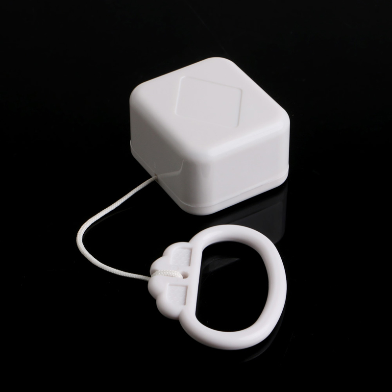 Pull String Cord Music Box White Baby Bed Bell Kids Toy Random Songs 24BE