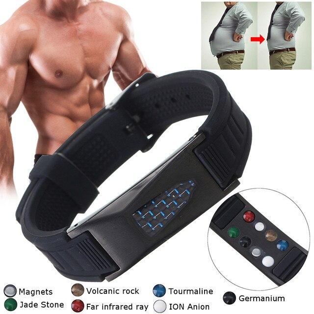 7 в 1 титановый магнитный энергетический Браслет, био браслет для облегчения боли, магнитный браслет для здоровья 2019 Новинка