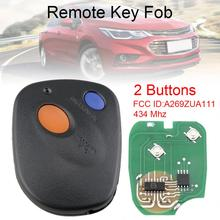 434MHz 2 Buttons Smart Car Remote Key A269ZUA111 Fit for 2000 2001 2002 2003 2004 Subaru Outback