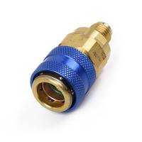1 pçs 1/4sae r134a 2 oz injector de óleo do carro a/c ac oil & dye ferramenta injeção
