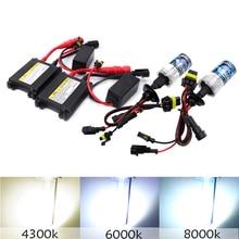 H7 35W 55W H3 H4 H8 H9 H11 HID Xenon Light Conversion Kit Headlight Bulb Slim Ballast 4300K 6000K 8000K Replace Halogen Lamp
