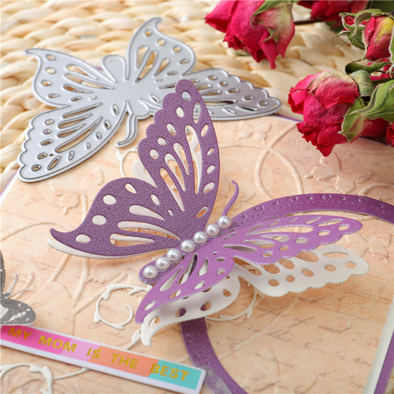 InLoveArts Butterfly Metal Cutting Dies Scrapbook Card 2020 New Version Production Embossing Die Cutting Process Die Decor