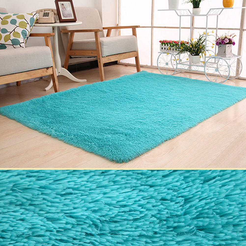 10 Colors 120x160cm Large Plush Shaggy Thicken Soft Carpet Area Rug Floor Mats For Dining Living Room Bedroom Home Office