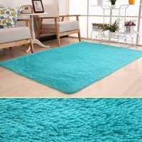 10 cores 120x160cm grande pelúcia shaggy engrossar tapete macio tapetes de área para sala jantar quarto escritório em casa