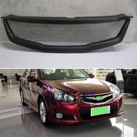 Body kit front bumper cover Refitting grill Accessories carbon fibre Racing Grills use for subaru Legacy 2009 2010