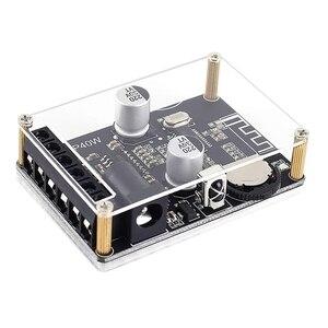 Stereofoniczny wzmacniacz mocy Bluetooth pilot zdalnego sterowania 5V 12V 24V 20W 30W 40W odbiornik podczerwieni moduł z etui