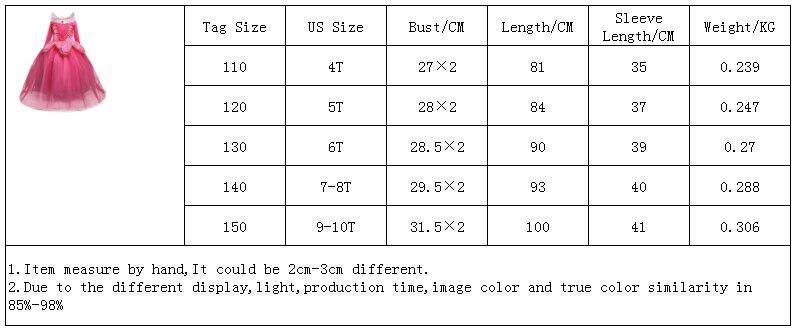 Z00119尺码表4-10T